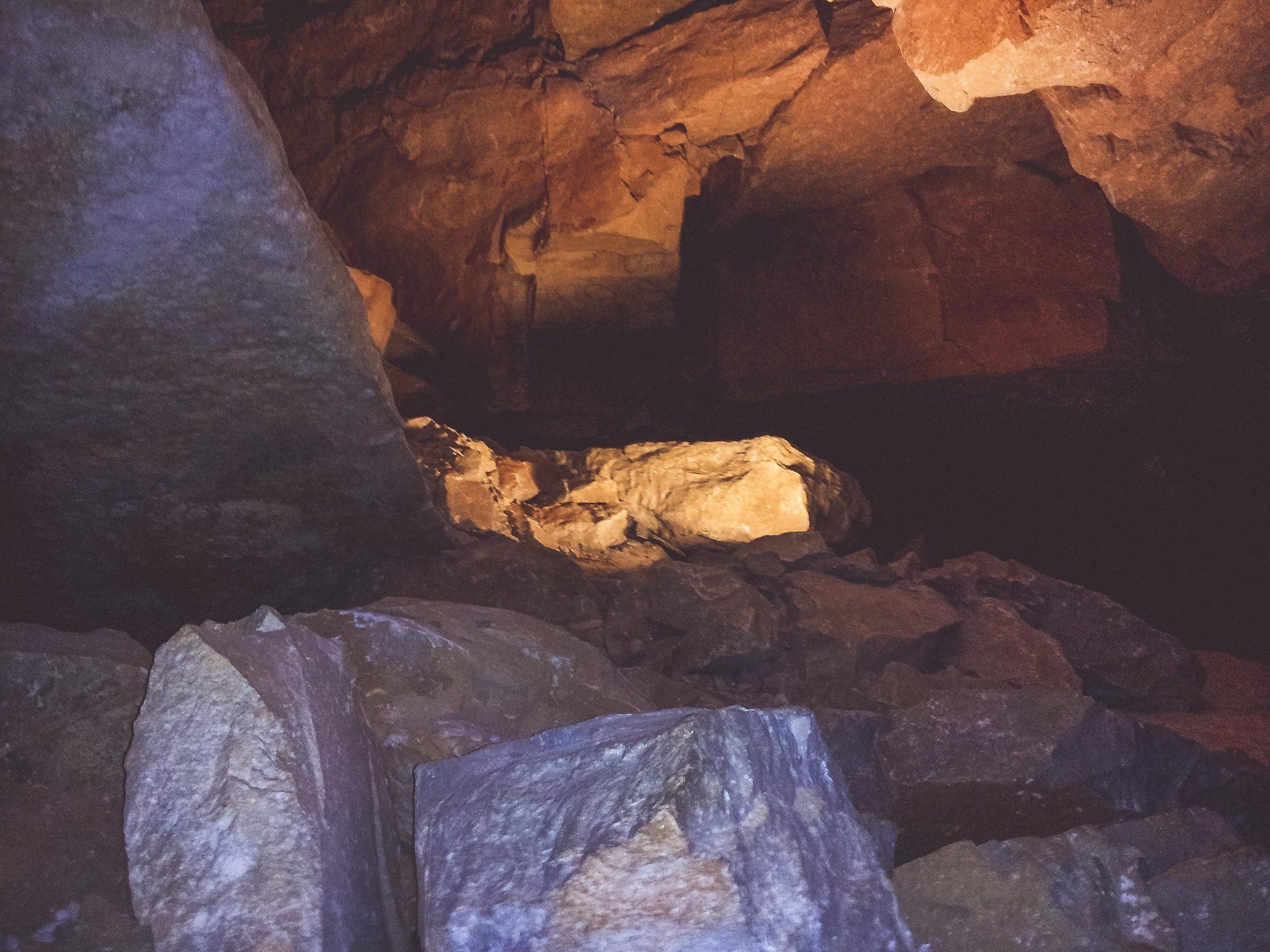 Inside Mammoth Cave 2012