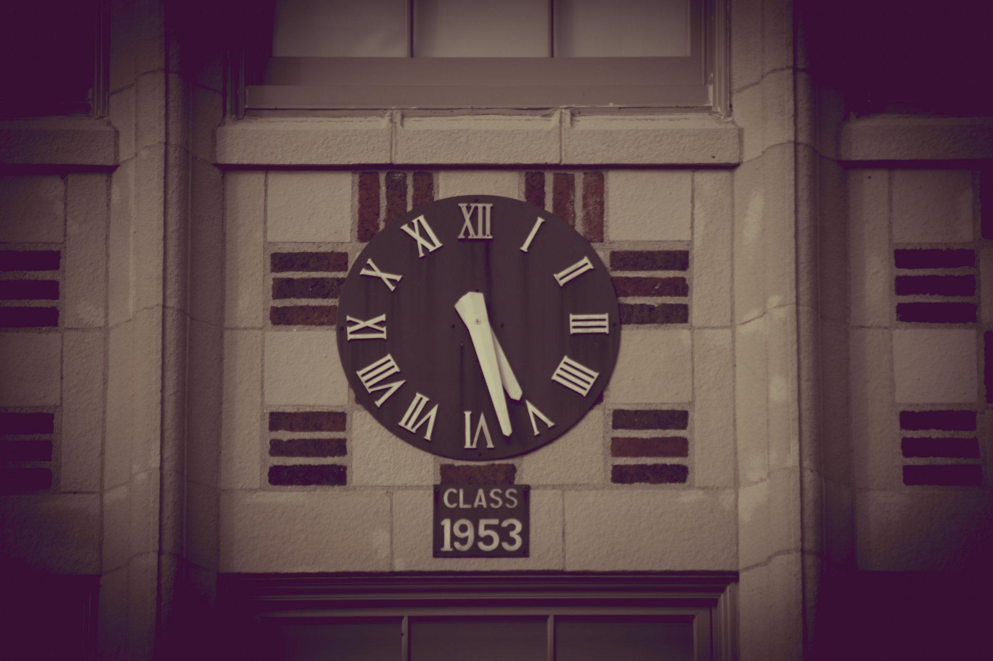 T.L. Handy Clock