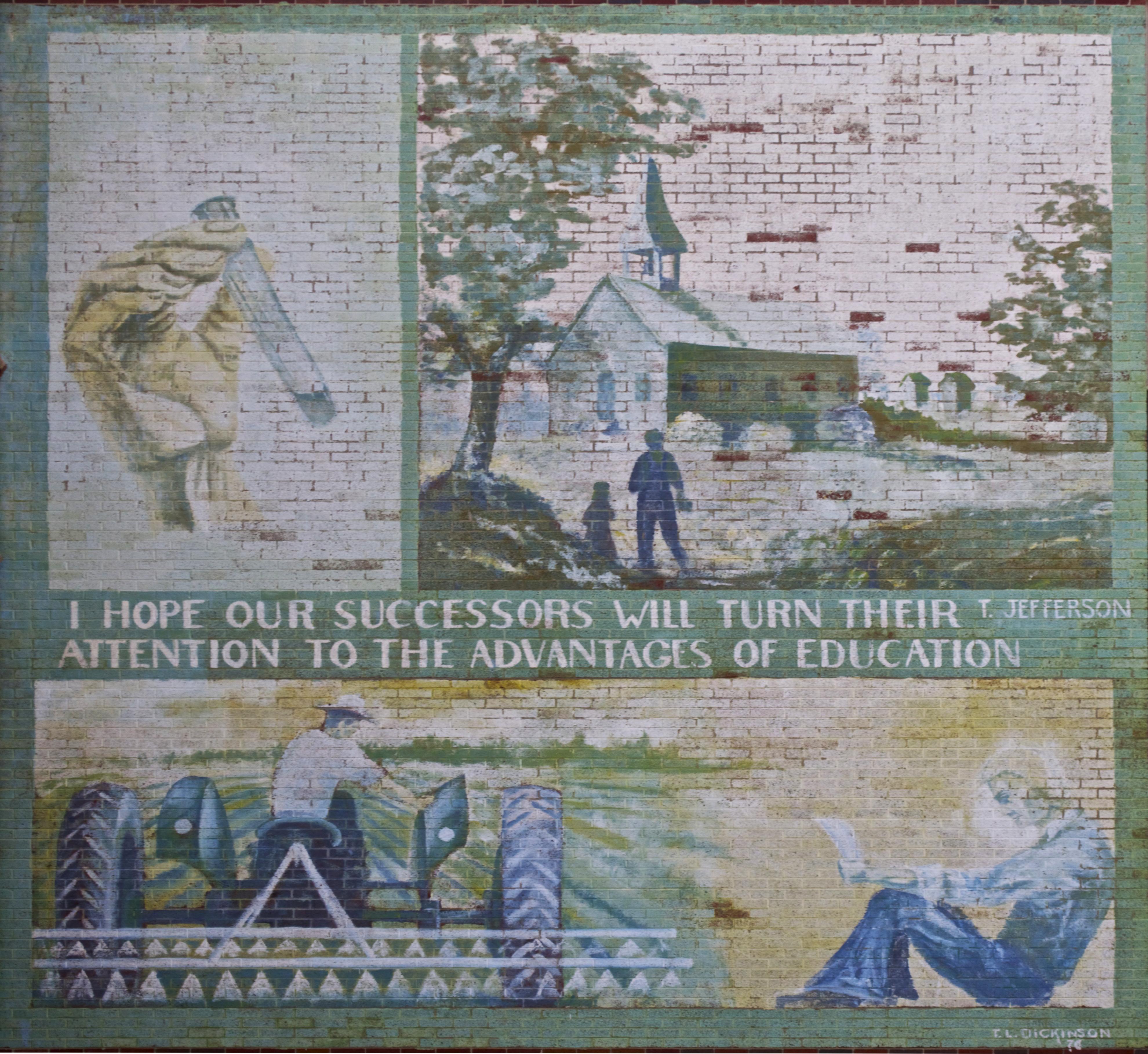 T.L. Handy High Mural