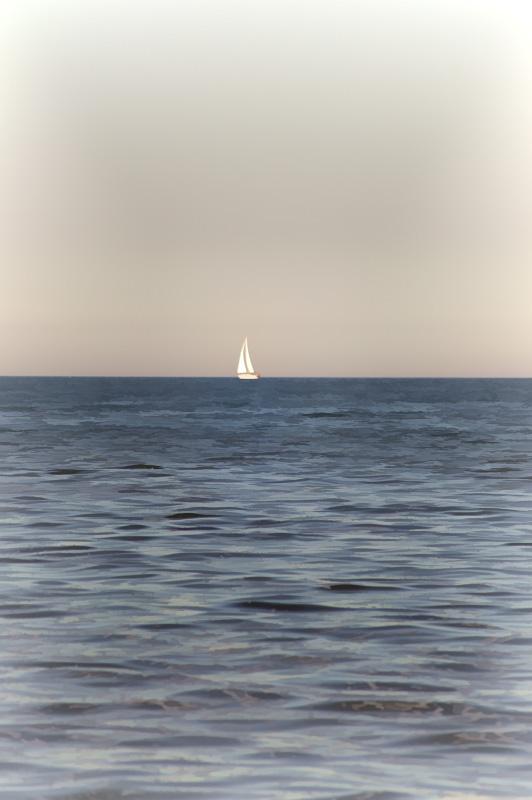 Sailboat on Saginaw Bay