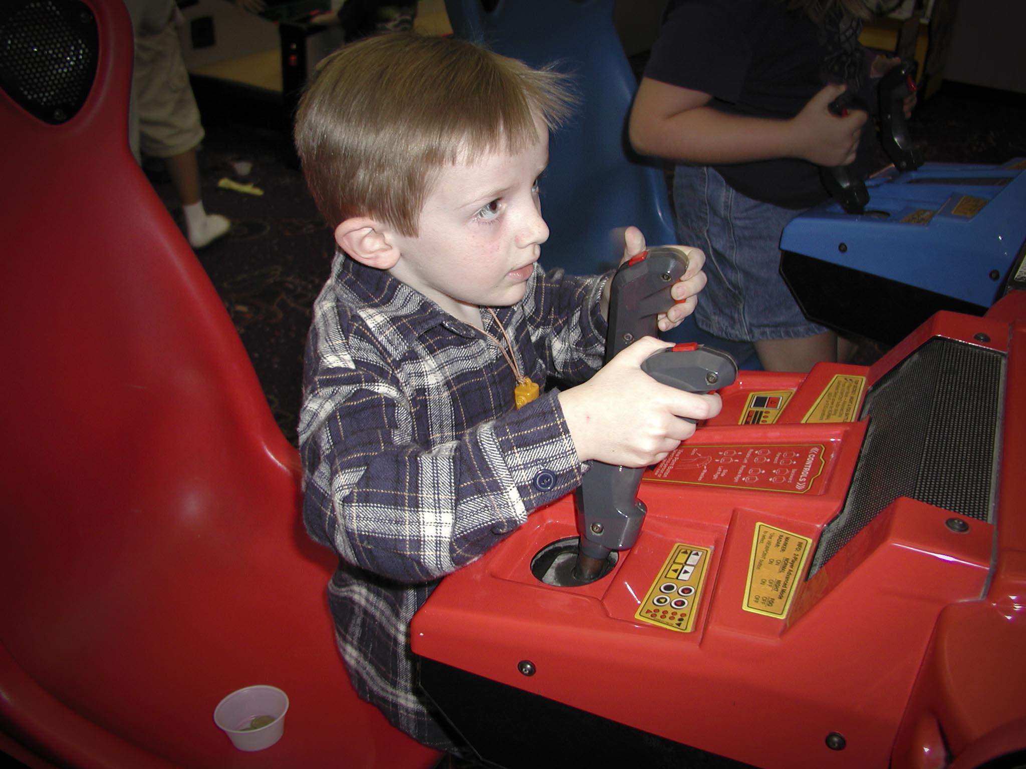 Michael at Arcade