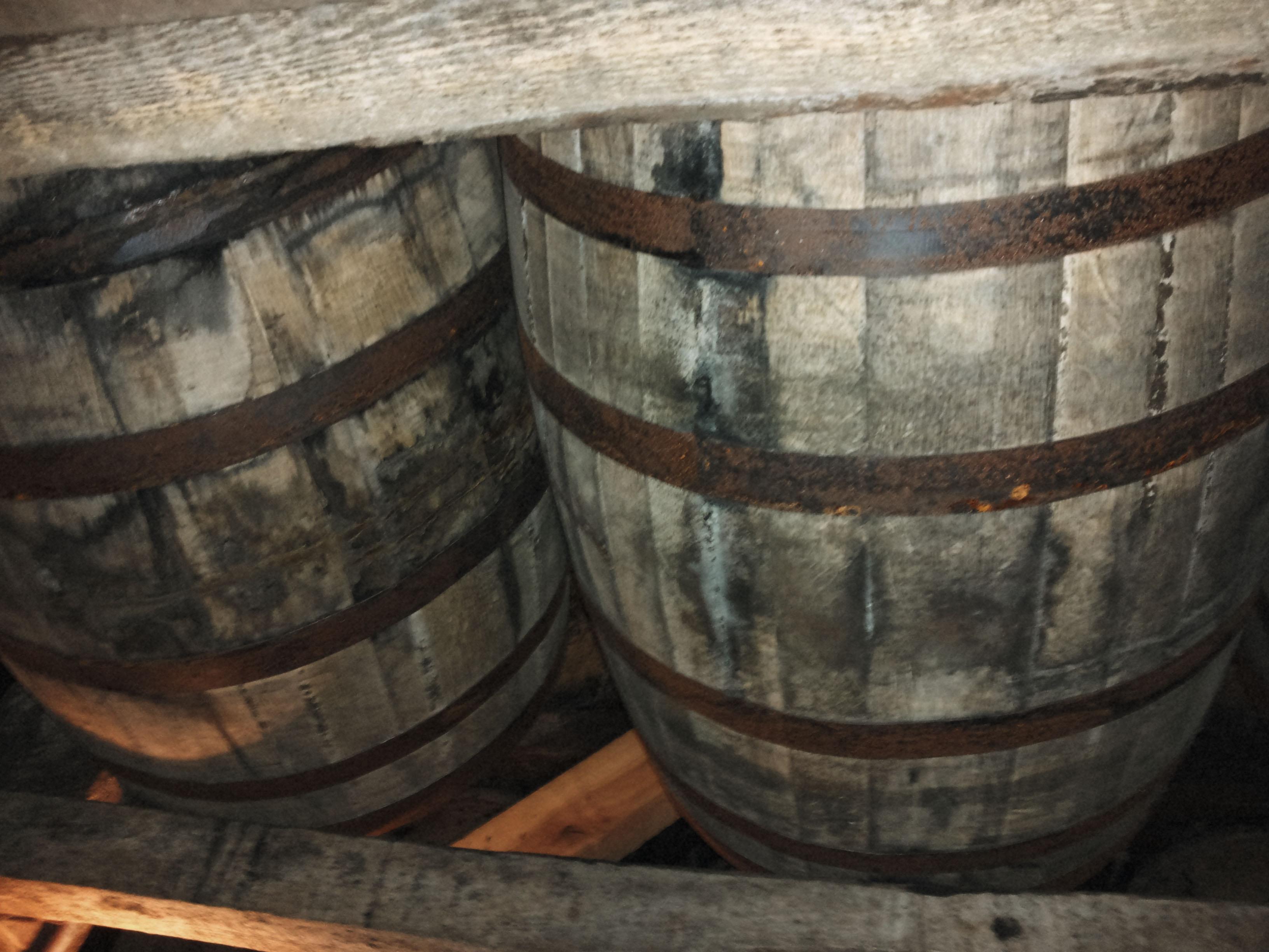 Jim Beam Distillery Barrels