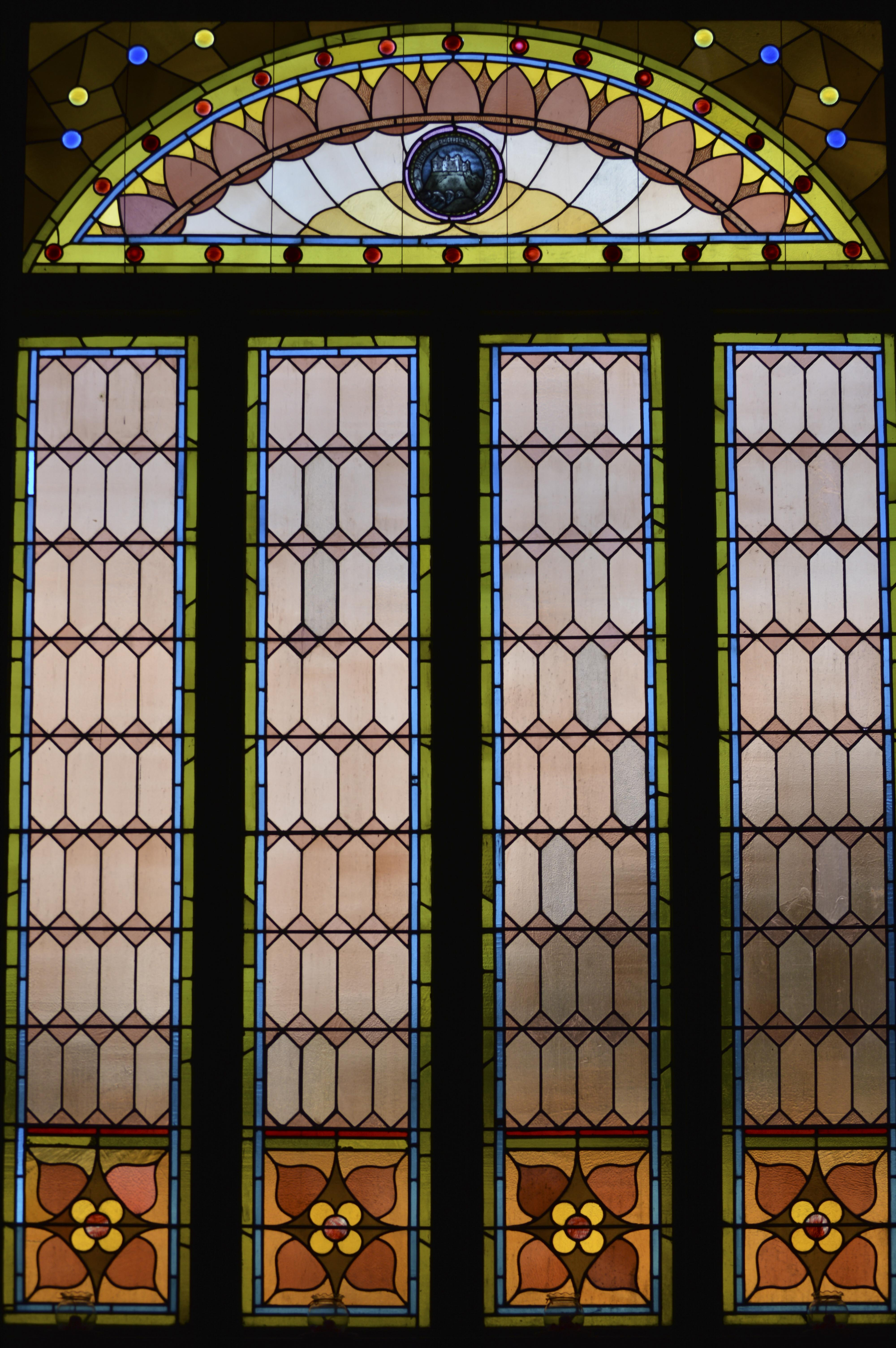 Stained Glass Window in Dade City Church
