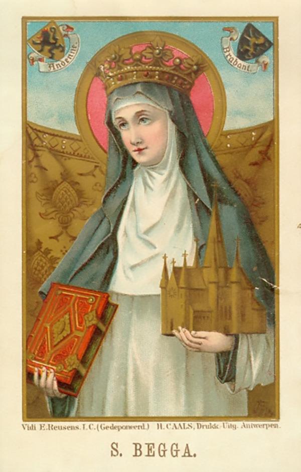 Saint Beggue of Austrasia - 43rd great-grandmother