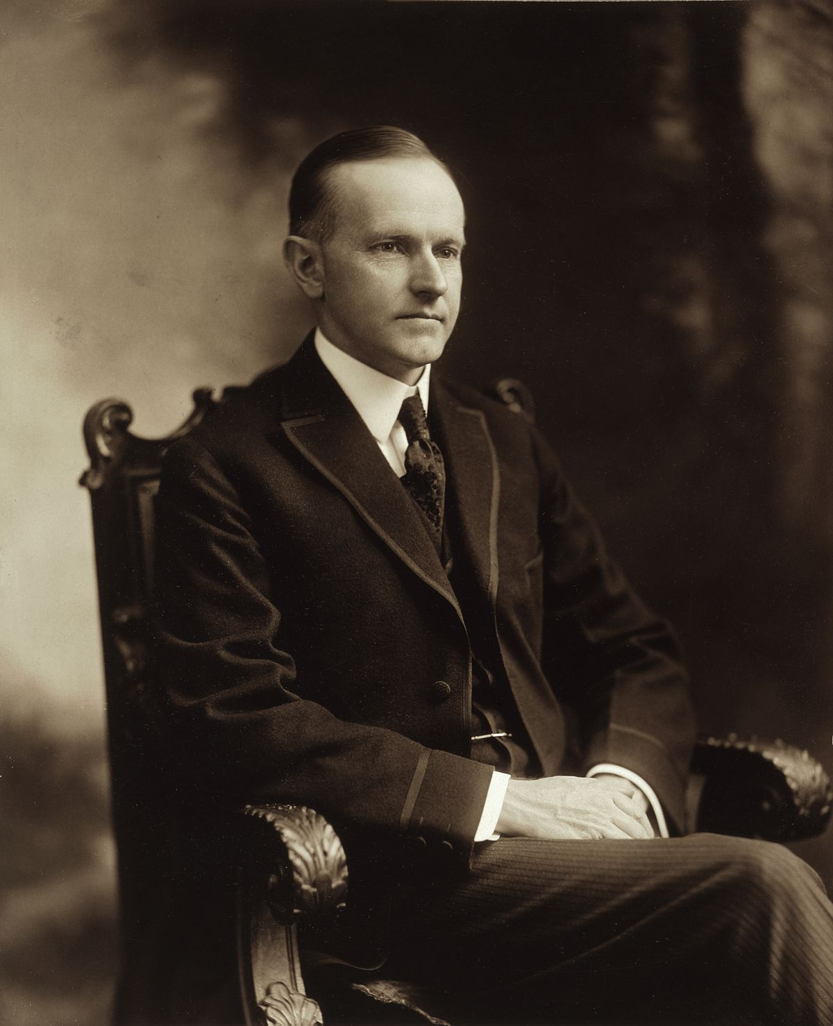 Calvin_Coolidge-6th cousin 3x removed